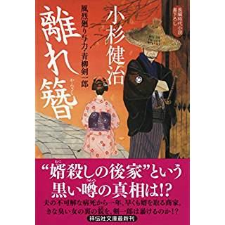 『離れ簪 風烈廻り与力・青柳剣一郎37』