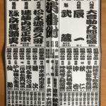 安永二年版の火消番付